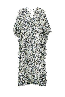 Sheer Ruffled Caftan Dress by See by Chloe
