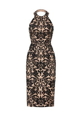 Cassi Sequin Sheath by Dress The Population