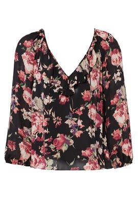 Vintage Florals Top by Joie