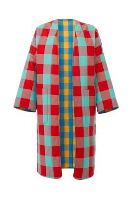 Check Willow Jacket by Mara Hoffman
