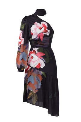 Watercolor Floral Dress by Parker