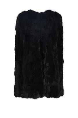 Black Cassandra Cape by Adrienne Landau