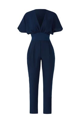 Navy Kimono Jumpsuit by Adelyn Rae