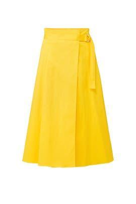 Sunshine Wrap Skirt by Badgley Mischka