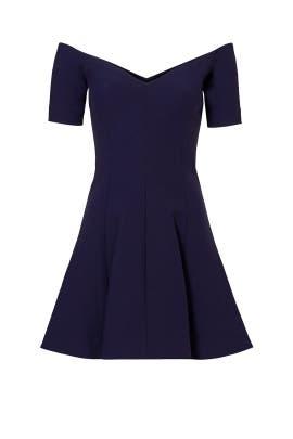 Navy Kenna Dress by Cinq à Sept