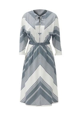 Blue Dusky Desert Dress by Derek Lam 10 Crosby