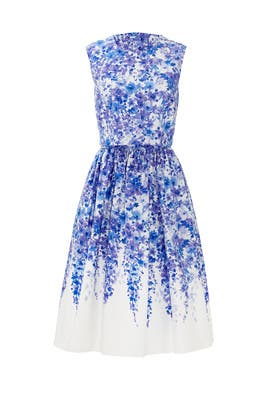 Blue Floral Fling Dress by Slate & Willow
