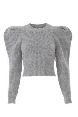 Puffed Shoulders Sweater by Philosophy di Lorenzo Serafini