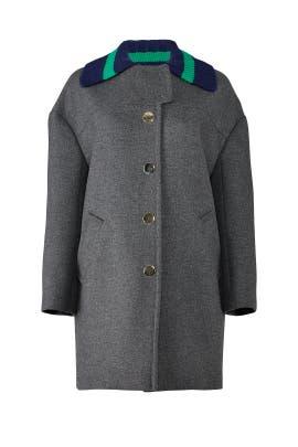 Grey Brianna Coat by Tara Jarmon