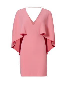 Peony Crepe Dress by Halston Heritage