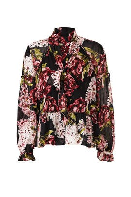 Heather Floral Blouse by Nicholas