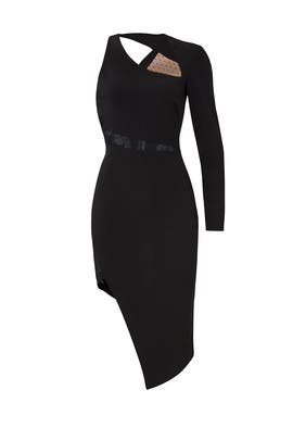 Black Micah Dress by STYLESTALKER