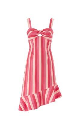 Contrast Stripe Dress by Slate & Willow
