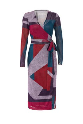 Colorblock Ellie Dress by Tanya Taylor