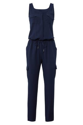Navy Vernay Jumpsuit by Joie