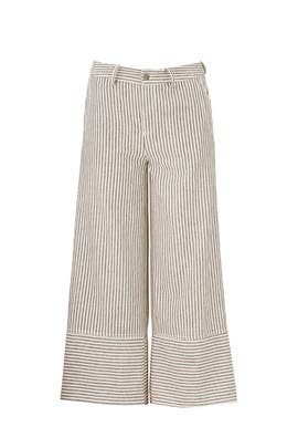 The Waist Wide Leg Culottes by Moon River