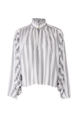 Striped Elizabeth Top by Petersyn