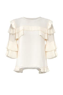Ivory Margo Top by TULAROSA