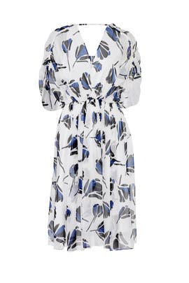 White Floral Dress by Jason Wu Grey
