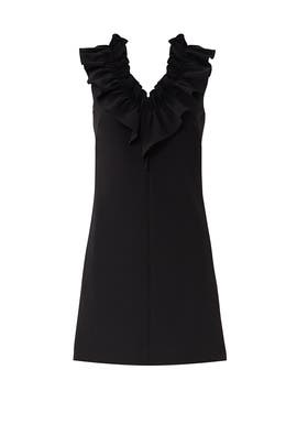 Sadie Ruffle Dress by Milly