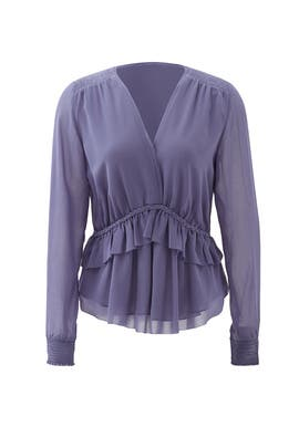 Lavender Chennei Tiered Top by Greylin