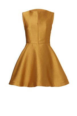 Gilded Tulip Dress by Josie Natori