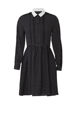 Lace Stripe Shirtdress by The Kooples