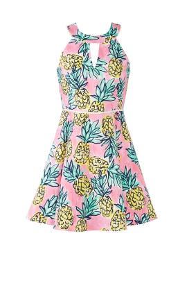 Pineapple Halter Dress by Draper James