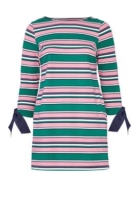 Striped Tie Sleeve Dress by Draper James X ELOQUII