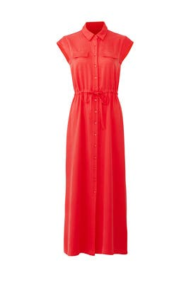 Red Shirtdress by Lavand.