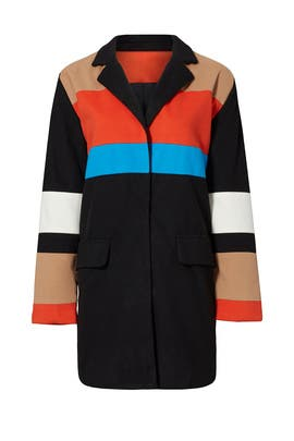 Olivia Colorblock Jacket by Endless Rose