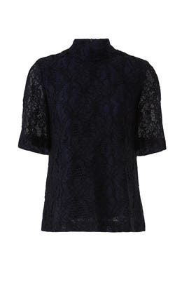 Marie Lace Blouse by Just Female