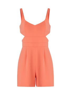 Papaya Amelia Romper by Jay Godfrey