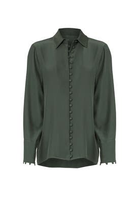 Green Substance Shirt by C/MEO COLLECTIVE