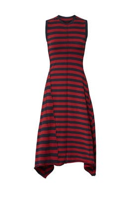 Rosewood Knit Dress by Jason Wu Grey