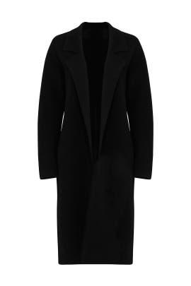 Black Long Coat by BROWN ALLAN