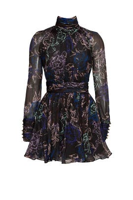 Garden Print Dress by Emanuel Ungaro
