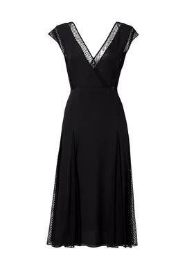 Black Dot Alida Dress by Tanya Taylor