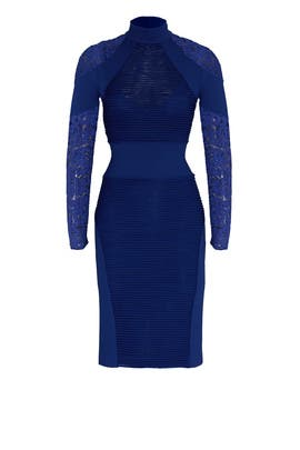 Cobalt Triple Threat Dress by Tracy Reese
