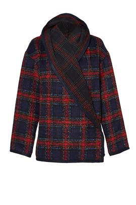 Adelaide Plaid Jacket by Ellie Mae