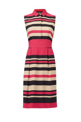 Striped Martha Dress by L.K. Bennett