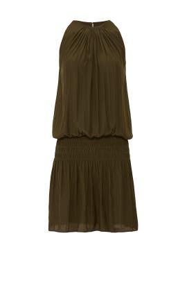 Green Paris Sleeveless Dress by Ramy Brook