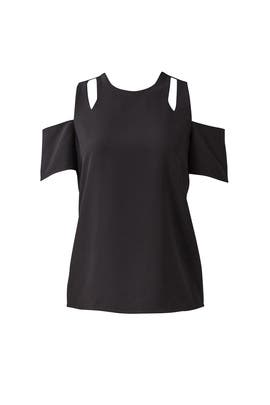 Black Padma Top by Cooper & Ella