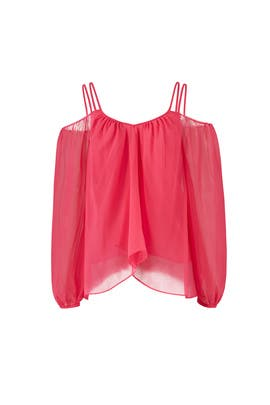 Fuchsia Sutton Top by LIKELY