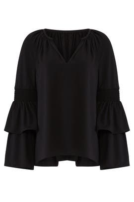 Black Lali Top by Ramy Brook