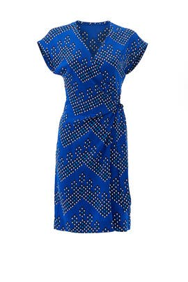 Sascha Faux Wrap Dress by Diane von Furstenberg