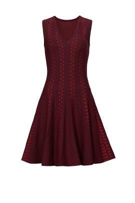 Burgundy Diamante Dress by Slate & Willow