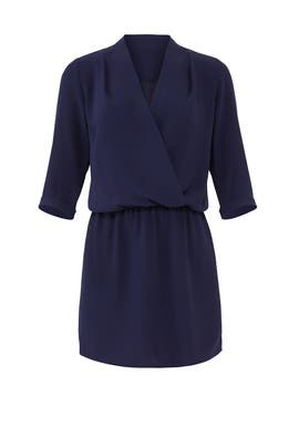 Navy Venus Dress by Amanda Uprichard