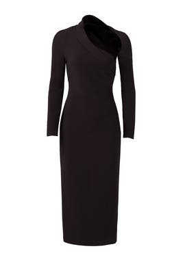 Black Stella Dress by Cushnie Et Ochs