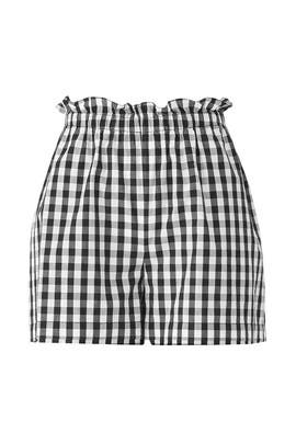 Gingham Cleantha Shorts by Joie